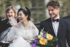 Hochzeit, Frankfurt, Römer, Outdoor, Trauung, Standesamt, Reportage